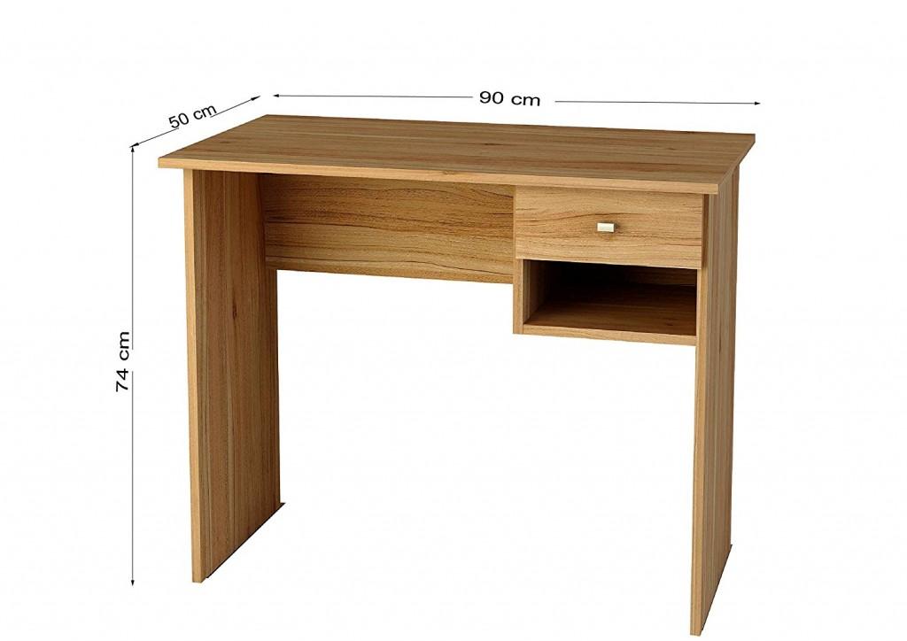 Mesa de escritorio Samblo Hana nogal