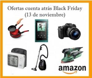 Ofertas Cuenta atrás Black Friday en Amazon (13 de noviembre)