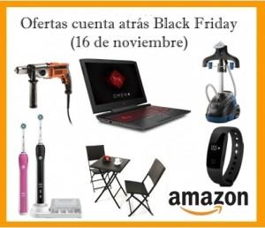 Ofertas cuenta atrás Black Friday en Amazon (16 de noviembre)