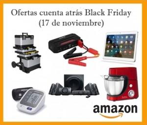 Ofertas cuenta atrás Black Friday en Amazon (17 de noviembre)