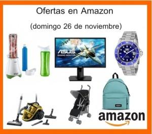 Ofertas en Amazon (domingo 26 de noviembre)
