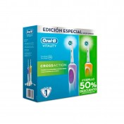 Pack cepillos Oral-B Duo Vitality CrossAction