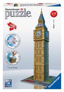 Puzzle 3D diseño Big Ben de Ravensburger