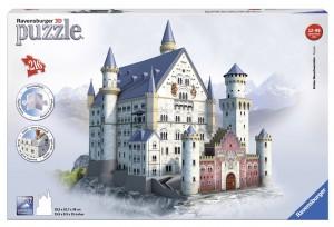 Puzzle 3D diseño Castillo de Neuschwanstein