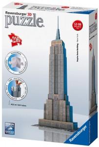 Puzzle 3D diseño Empire State Building Ravensburger