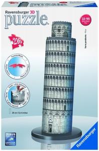 Puzzle 3D diseño Torre de Pisa de Ravensburger