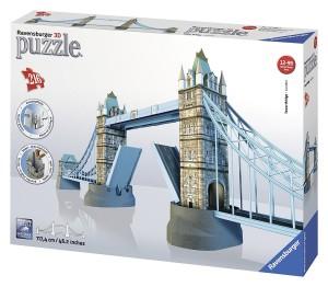Puzzle 3D diseño Tower Bridge de Ravensburger