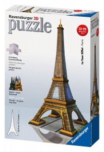 Puzzle 3D diseño diseño Torre Eiffel de Ravensburger