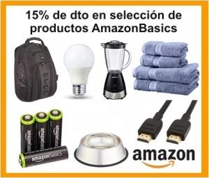 Selección de productos AmazonBasics