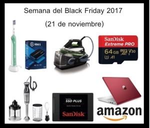 Semana Black friday 2017 amazon 21 noviembre