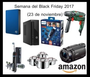 Semana Black friday 2017 amazon 23 noviembre