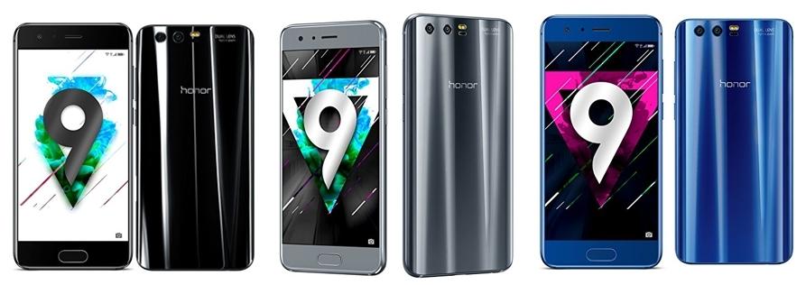 Smartphone Honor 9 varios colores
