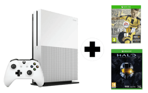 Xbox One S + Halo The Master Chief Collection + FIFA 17
