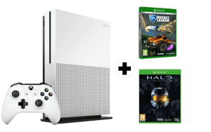 Xbox One S + Halo The Master Chief Collection + Rocket League