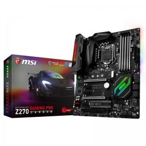Z270 Gaming Pro Carbon de MSI