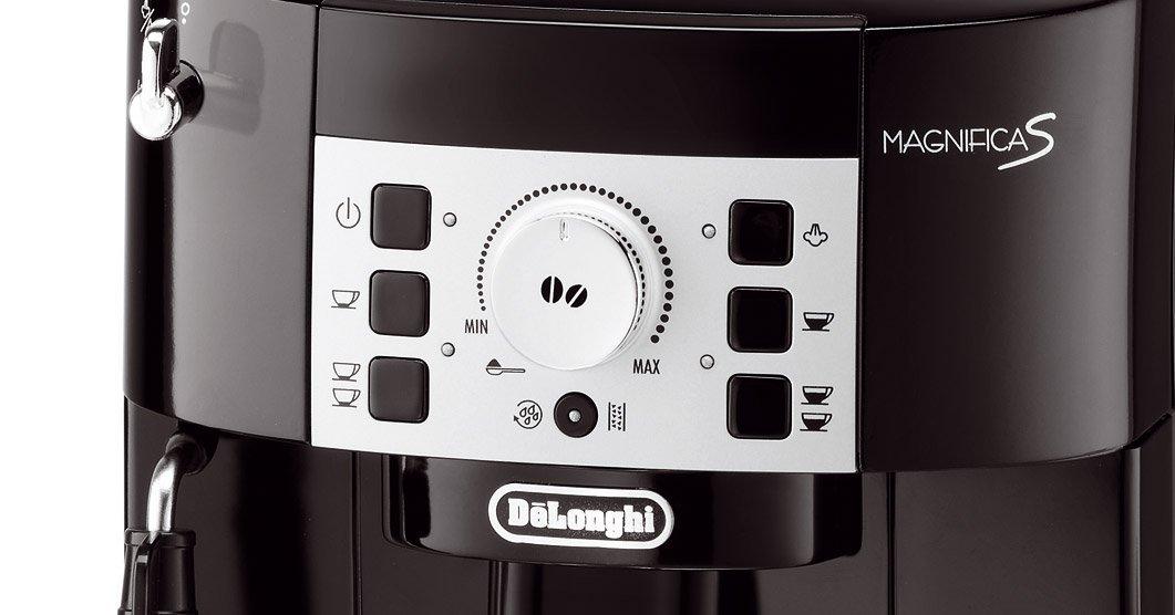 Cafetera superautomática Magnifica S DeLonghi controles