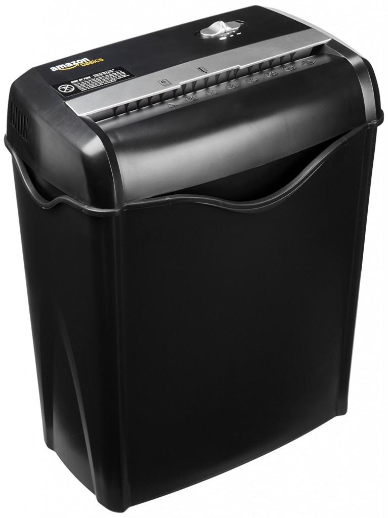 Destructora de papel AmazonBasic AS665C - EU