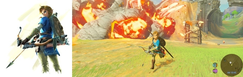 Juego The Legend of Zelda Breath of the Wild Switch