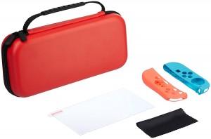 Kit básico para Nintendo Switch AmazonBasics rojo