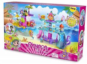 La isla mágica de piratas y sirenas Pinypon