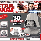 Puzzle Star Wars 3D Sculpture diseño Darth Vader