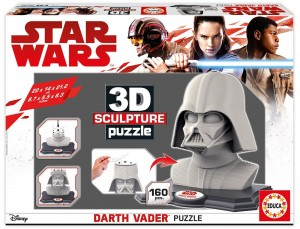 Puzzle Star Wars 3D Sculpture diseño Darth Vader