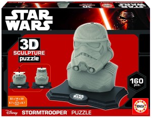 Puzzle Star Wars 3D Sculpture diseño Stormtrooper