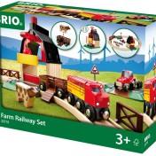 Set circuito de tren con granja Brio 33719