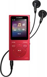 Sony Walkman NW-E394R rojo