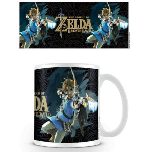 Taza The Legend of Zelda Breath of the Wild Portada del juego