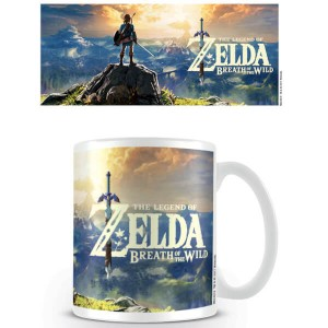 Taza The Legend of Zelda Breath of the Wild Puesta de sol