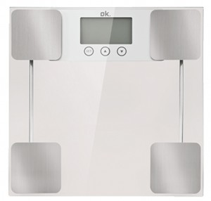 Báscula de baño digital OK OPS 200 SILVER