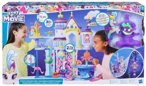 Castillo Canterlot y Mar My Little Pony de Hasbro