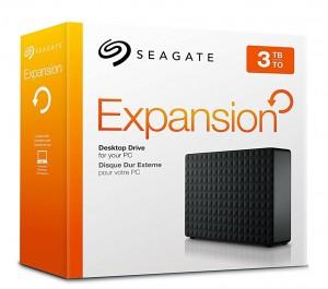 Disco duro externo de sobremesa Seagate Expansion de 3 TB