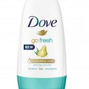 Pack 6 desodorantes roll-on Dove Go Fresh Pera y Aloe Vera