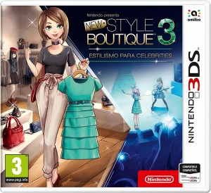 Juego New Style Boutique 3 Estilismo para celebrities para Nintendo 3DS