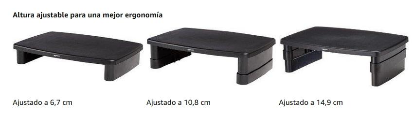 Soporte monitor AmazonBasics DHMSA altura regulable