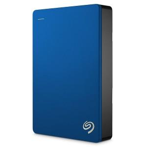 Disco duro externo Seagate Backup Plus Slim de 5 TB azul