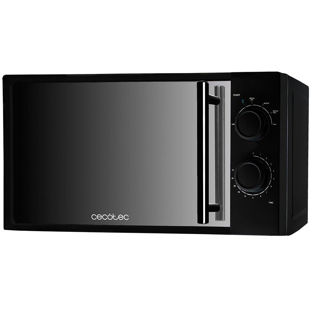 microondas cecotec all black sin grill capacidad de 20 litros. Black Bedroom Furniture Sets. Home Design Ideas