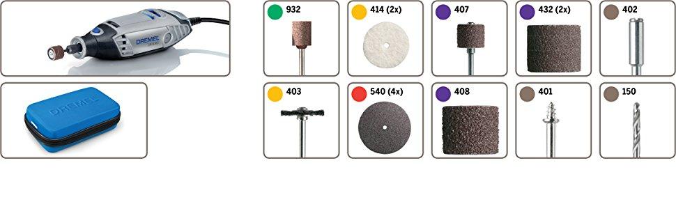 Multiherramienta Dremel 3000-15 accesorios incluidos