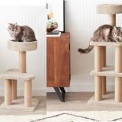 Árbol de actividades para gatos AmazonBasics