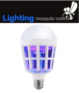 Bombilla antimosquitos Utorch