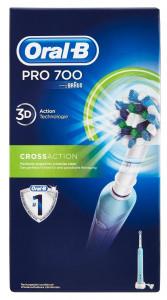 Cepillo de dientes eléctrico Oral-B Pro 700 CrossAction