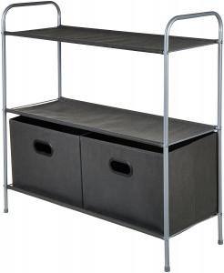 Organizador de armario con cestos AmazonBasics