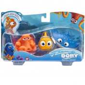 Set de 3 figuras de baño Buscando a Dory de Bandai
