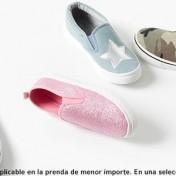 zapatillas de lona con dto