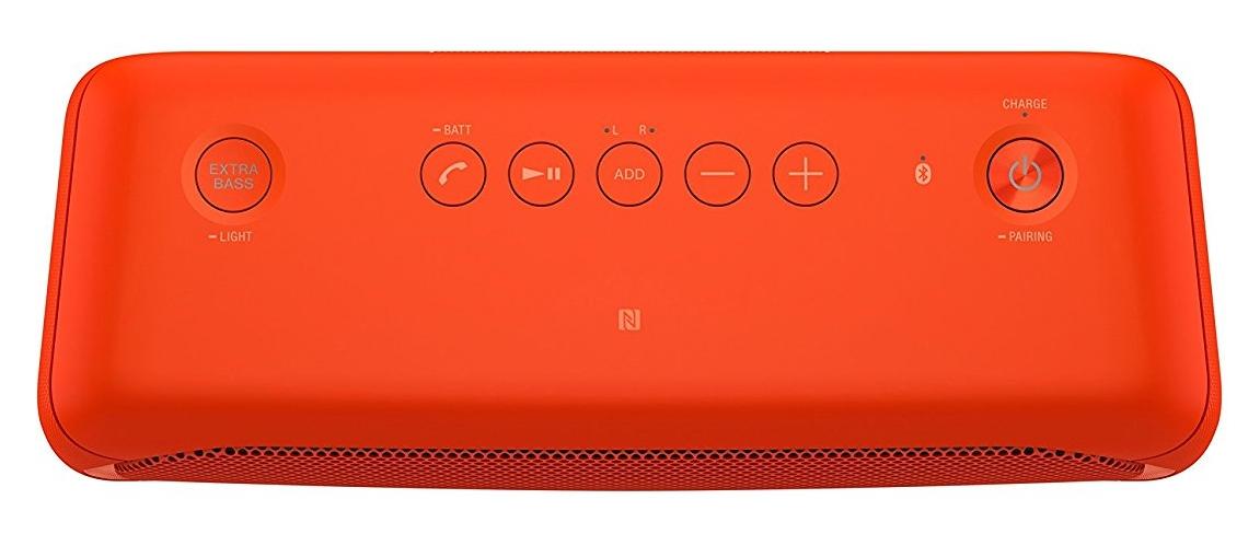 Altavoz inalámbrico portátil Sony SRS-XB30R controles
