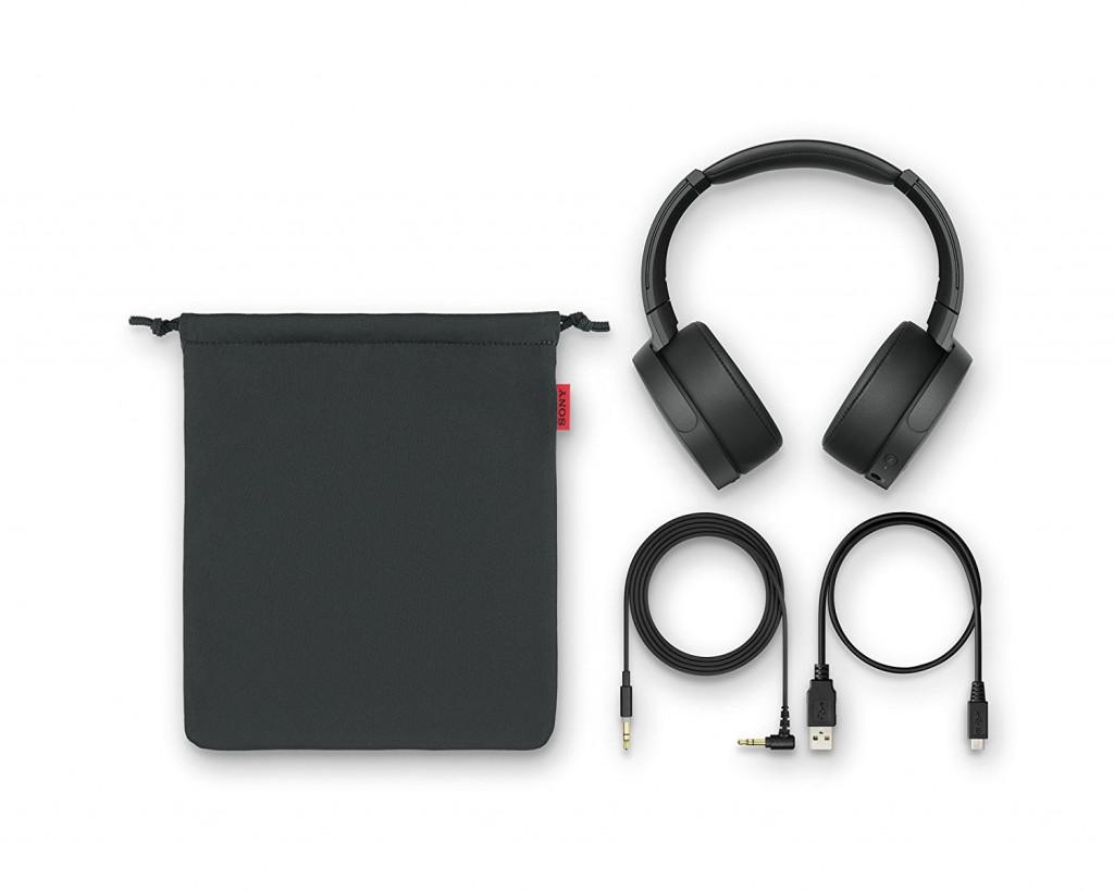 Auriculares de diadema cerrados inalámbricos Sony MDR-XB950N1
