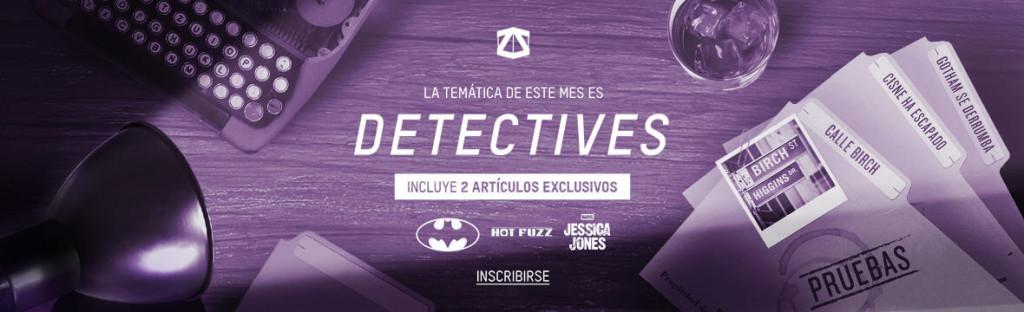 Caja misteriosa para frikis ZBOX detectives