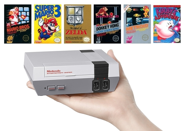 Consola Nintendo Classic Mini NES 30 juegos